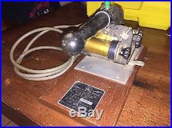 Vintage DIAMOND CO. MATCH BOOK IMPRINTER MACHINE Franklin MFG Embosser