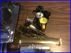 Vintage Goldpress Letter Type Set Hot Foil Gold Stamping Machine & Kingsley Foil