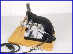 Vintage Kingsley Machine Hot Foil Stamping Machine USED WORKS