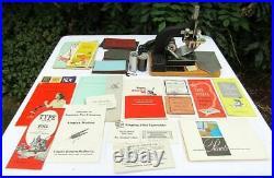 Vintage Kinsley Hot Foil Stamping Machine Foil Manuals Advertisement Nice