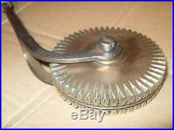 Vintage Knights & Cottrell Book Binding Gilding / Finishing Wheel / Tool