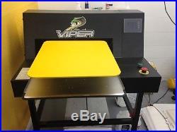Viper XPT 6000 DTG pretreatment machine for T-shirts printing printer
