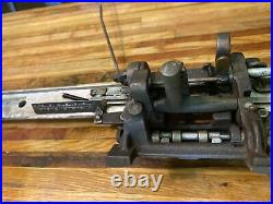 WW2 Graphotype Dog Tag Stamping Machine Model 6381 Part