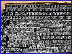 Webb 12 pt. Letterpress Metal type Printers Type