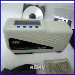 X-Rite MA90 DuPont ChromaVision Multiangle Spectrophotometer Auto paint matching
